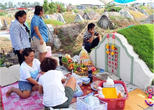 Qingming-Festival-Praying-at-Gravesite
