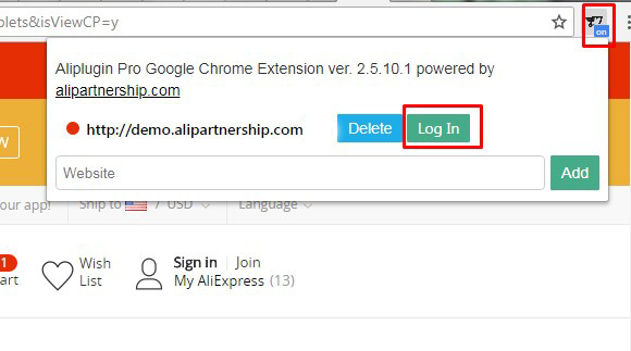 How to use browser extension for AliPlugin Pro | Expert articles on